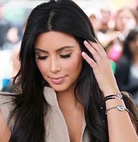 Kim Kardashian Jewelry: Evil Eye Bracelet