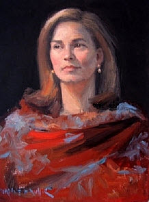 Artist Dianne P. Miller offers fine art portraits at 6 In the Shipyard