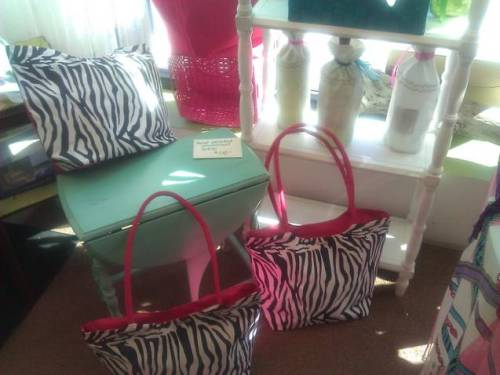 New zebra and hot pink merchandise at 6 In the Shipyard in Hingham, MA